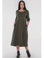 Платье «Виктория» цвета хаки