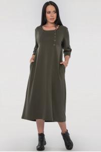 Сукня «Вікторія» кольору хакі