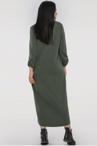 Сукня «Сусанна» кольору хакі