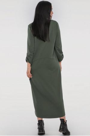 Платье «Сусанна» цвета хаки