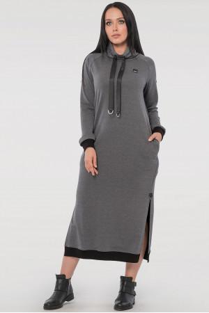 Платье «Барбара» серого цвета