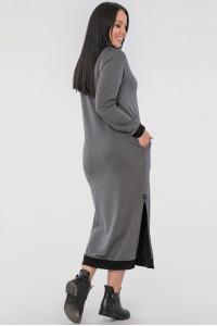 Сукня «Барбара» сірого кольору