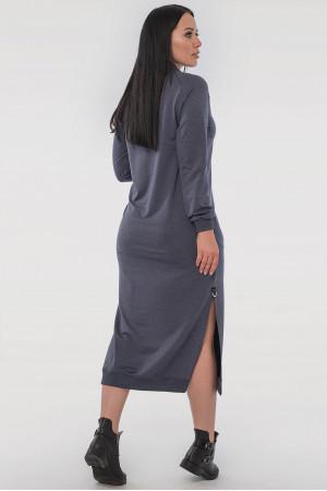 Платье «Барбара» цвета джинс