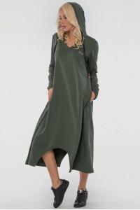 Сукня «Дарина» кольору хакі