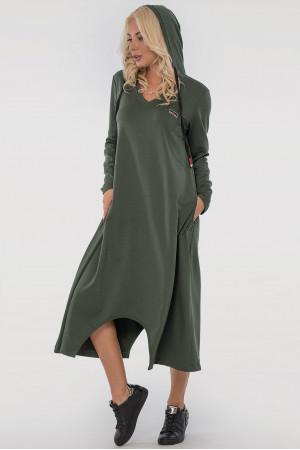 Платье «Дарина» цвета хаки