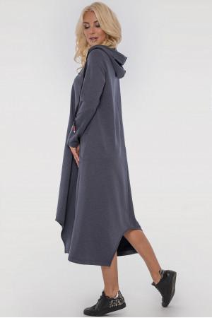 Платье «Дарина» цвета джинс