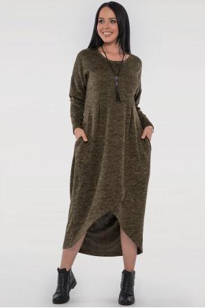 Сукня «Віра» кольору хакі