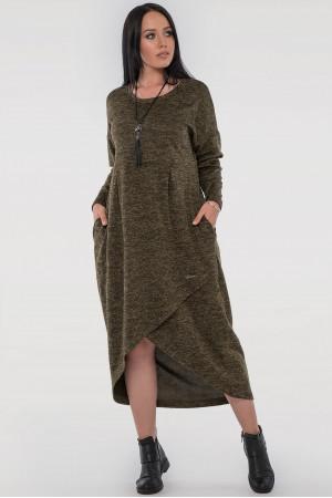 Платье «Вера» цвета хаки