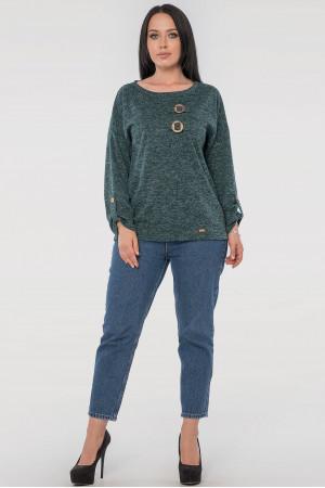 Блуза «Іренка» зеленого кольору