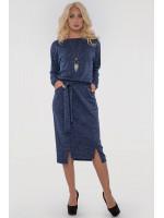 Сукня «Люба» синього кольору