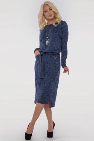 Платье «Люба» синего цвета