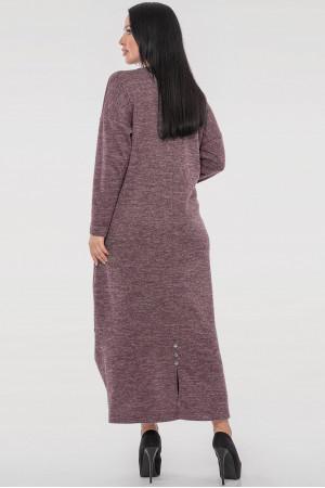 Платье «Доминика» лилового цвета