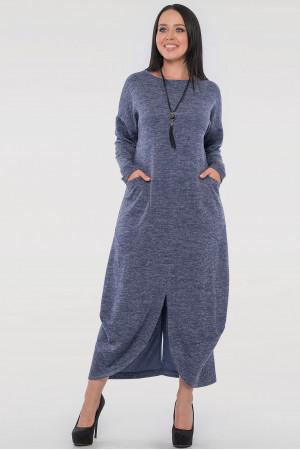 Платье «Доминика» синего цвета