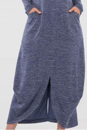 Сукня «Домініка» синього кольору