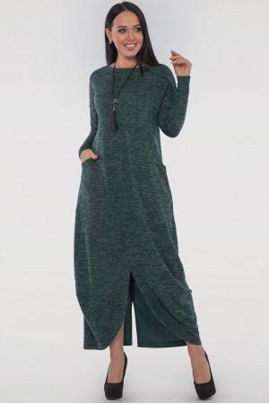 Платье «Доминика» зеленого цвета