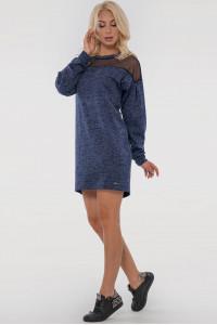 Сукня «Евеліна» синього кольору