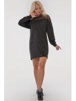 Платье «Эвелина» темно-серого цвета