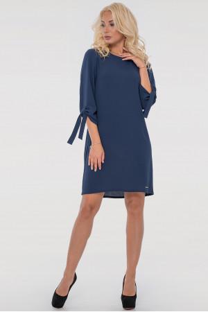 Платье «Элис» синего цвета