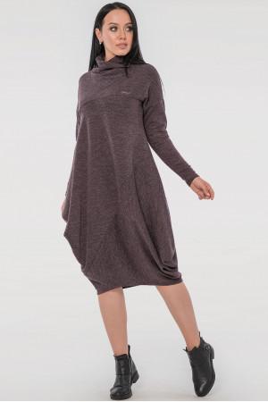 Платье «Гертруда» фиолетового цвета