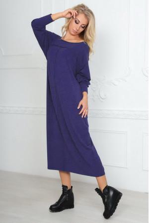Платье  «Молли» фиолетового цвета