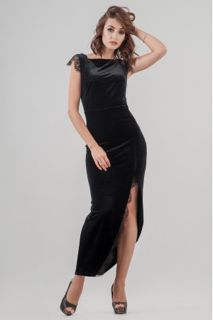 Платье «Леди» черного цвета