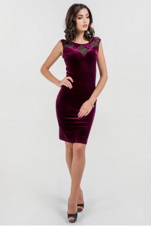 Платье «Виолетта» лилового цвета