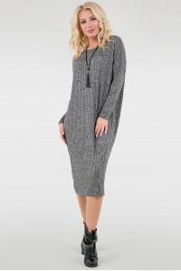 Сукня «Ліра» сірого кольору