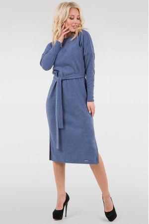 Платье «Владлена» цвета джинс