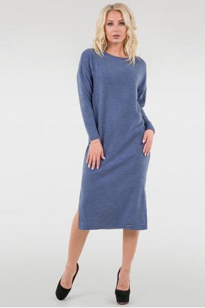 Платье «Владлена» синего цвета
