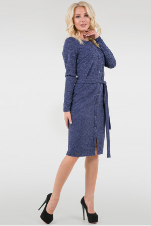 Платье «Лора» синего цвета