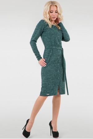 Платье «Лора» зеленого цвета