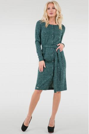 Сукня «Лора»  зеленого кольору