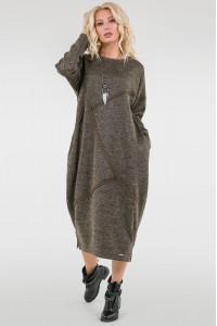 Сукня «Діша» кольору хакі