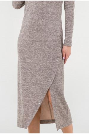 Платье «Нора» бежевого цвета