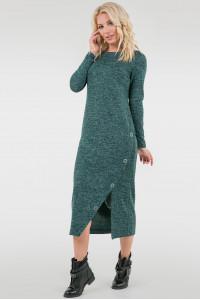 Платье «Нора» зеленого цвета