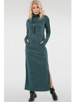 Платье «Дейли» зеленого цвета