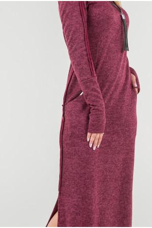 Сукня «Дейлі» бордового кольору