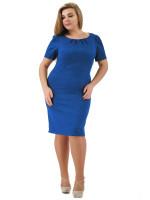 Сукня «Анік» синього кольору