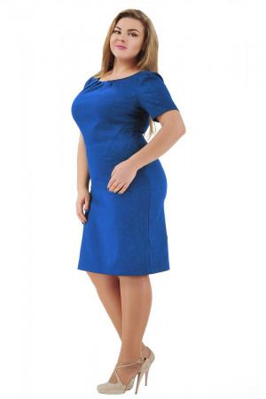 Платье «Аник» синего цвета