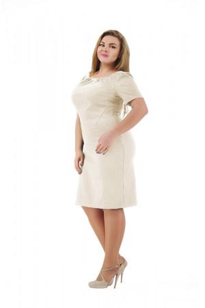 Платье «Аник» молочного цвета