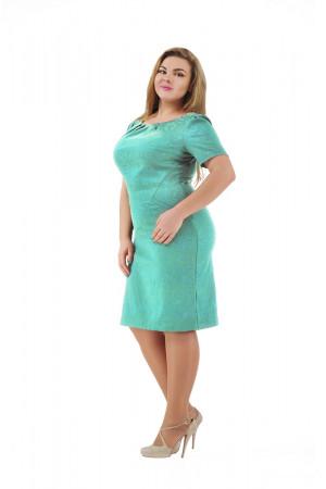 Платье «Аник» мятного цвета