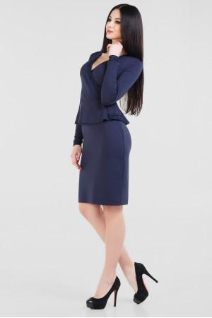 Сукня «Лексі» темно-синього кольору