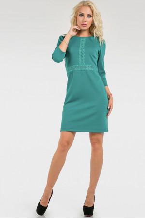 Платье «Айви» мятного цвета