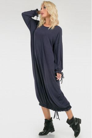 Сукня «Елла» темно-синього кольору