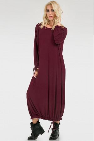 Сукня «Елла» бордового кольору