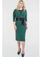 Платье «Патриция» темно-зеленого цвета