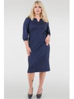 Платье «Тесса» синего цвета