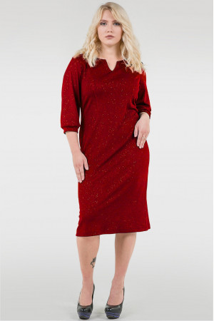 Платье «Тесса» красного цвета