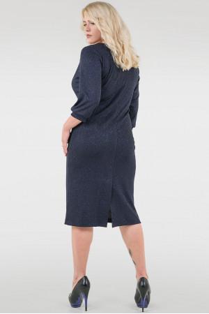 Сукня «Тесса»  темно-синього кольору