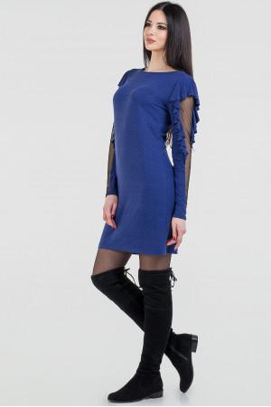 Платье «Лесли» синего цвета
